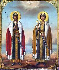 SANTINO HOLY CARD SANTI BORIS E GLEB DI RUSSIA