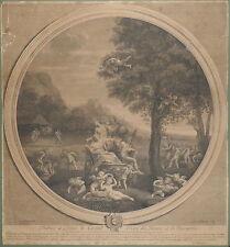 1695-ELEMENT DE LA TERRE-LA TERRA-FRANCESCO ALBANI-BAUDET-PUTTI-GRANDE INCISIONE