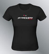 Tee shirt personnalise Street Triple 675 S M L XL femme moto