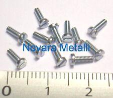 20 microviti TC taglio cacciavite M1,4x4 inox A2 viti pan head screws vis
