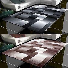 Design Moderne Géométrique Tapis à poils ras salon différentes couleurs. tailles