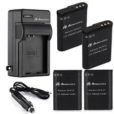 EN-EL23 ENEL23 Battery + Charger for Nikon Coolpix P600 P610S S810C P900 2600mAh