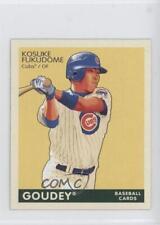 2009 Upper Deck Goudey Mini Green Back #38 Kosuke Fukudome Chicago Cubs Card