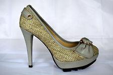 femmes élégantes chaussures de soirée ESCARPINS talons hauts avec un noeud