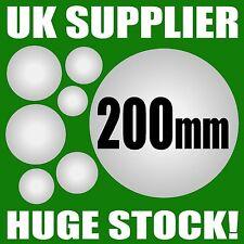 200mm (20cm) POLYSTYRENE BALLS - Sweet Tree Crafts Decoration Xmas - UK SUPPLIED