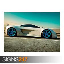 AUDI XTREME QUATTRO (0090) Car Poster - Picture Poster Print Art A0 A1 A2 A3 A4