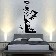 Banksy PREGHIERE Decalcomania In Vinile Adesivo Parete Arte ha STREET