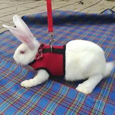 Pet Mesh Soft Harness Leash Lead Vest for Hamster Rabbit Bunny Rat Ferret Jian