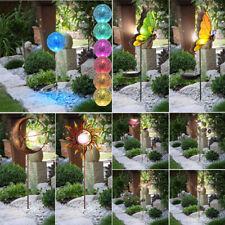 LED Solar Lampen Hof Garten Außen Beleuchtung Erdspieß Tier Motiv Steck Leuchten