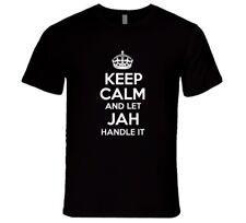 Let Jah Handle It T-Shirt  Rastafari Reggae