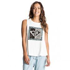 Roxy Aztec Rider New Generation Top Tank Top T-Shirt Shirt weiß ERJZT03807