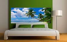 Papier peint tête de lit plage et palmier 3625 Art déco Stickers