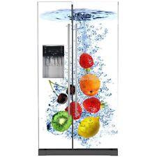 Sticker frigo américain déco cuisine Fruits 741