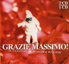 DOPPIO CD MASSIMO RANIERI GRAZIE MASSIMO 30 CANZONI