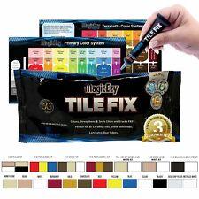 MagicEzy Tile Fix Repair Kit : Fill & Colour CRACKS & CHIPS Ceramic Floor