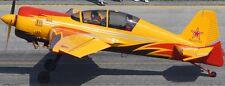Yak-54 1Polet Aerobatic Yakovlev Yak54 Airplane Mahogany Wood Model Small New