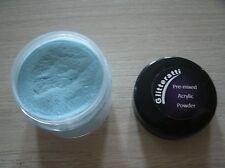 Glitteratti 28 Turquesa Perla Pre-mezclado Acrílico polvo Opi Nsi Nail Art