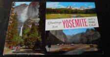 Vintage Postcard Yosemite National Park 1950s Cars