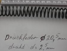 Druckfeder Ø 20,5 mm Draht d= 2,5 mm Neu