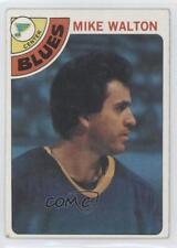1978-79 Topps #38 Mike Walton St. Louis Blues Hockey Card