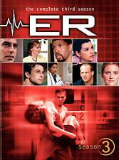 ER COMPLETE THIRD SEASON 3 New Sealed 6 DVD Set
