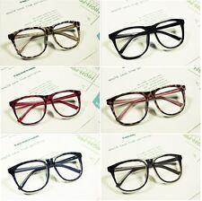 Unisex Retro Designing Black glasses frames Accessories no lenses Fancy Dress