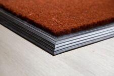 BEST Russet Coir Entrance Mat With Rubber Edge Various Sizes UK Floor Mat