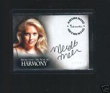 "Buffy ""Spike""  A4   Mercedes McNab auto card"