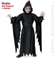 Halloween Kinderkostüm Horror, Kutte mit Kaputze, in Gr. 128/140 + 152/164
