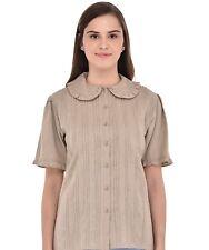Peter Pan Collar Plus Size Blouse | Cotton Lane