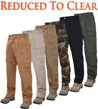 True Face Mens Tactical Pro Patrol Pants Cargo Combat Forces Work Trousers