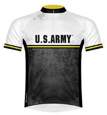 Primal Wear US Army Strong Cycling Jersey Raglan Cut Mens Bike Sport Cut