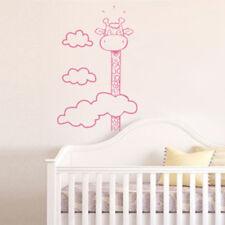 Sticker Enfant Girafe Tête dans les nuages, 40x26 cm à 90x57 cm (GIRAF001)