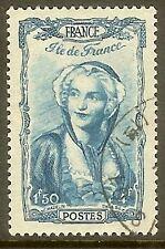 """FRANCE TIMBRE STAMP N°595 """" COIFFES ILE DE FRANCE """" OBLITERE TB"""