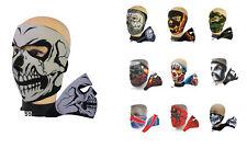 New Ski Bike Face Masks, Balaclava,100% Neoprene, Many designs, Halloween