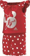 Adidas Pequeño Niños Niñas Minnie verano oncie Set Camiseta + SHORT ROJO BLANCO
