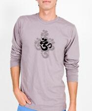 NEW American Apparel yoga OM Sanskrit ORGANIC shirt