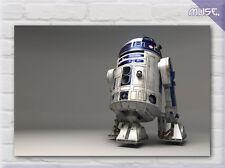 """Star Wars R2-d2 Película Lona Impresión Pared Art Decó"