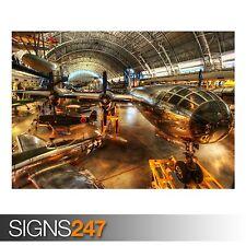 Avión Enola Gay (AA008) Cartel de aviones-Foto Poster Print Art * Todas las Tallas
