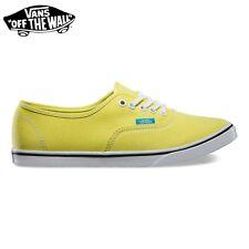 "VANS Scarpe DONNA Shoes ""Authentic Lo Pro"" Originali NUOVE New POP Yellow/CyBlue"