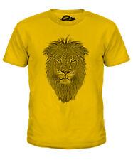BNWT LEONE RE DELLA GIUNGLA pericolosi Gatto Tigre Kids T Shirt 3-15 anni