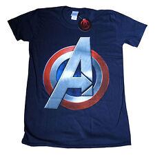 Avengers di Capitan America logo ufficiale Marvel T-SHIRT IRON MAN HULK a 2xl 16e