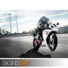 Yamaha Bike Ride (1707) Moto Poster-Photo Poster print ART * Toutes Les Tailles