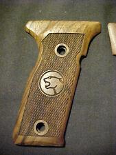 Beretta 8000/8357/8040 Cougar Chk Walnut Pistol Grips wCougrLogos FULL-SIZE NEW!