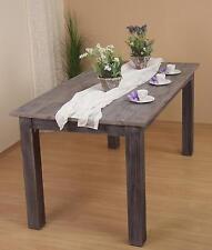Esstisch in 3 Größen braun Massivholz Akazie Esszimmertisch Tisch Küchentisch