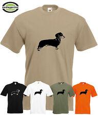 T Shirt Dackel, Teckel, Dachshund, Kurzhaardackel, Jäger, Geschenk, Hund