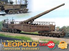 Dragon Can.Do UML 1/144 Scale WWII German Museum Version Leopold Railroad Gun