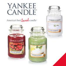 YANKEE Candle 22oz GRANDE Giara varietà GRATIS P&P