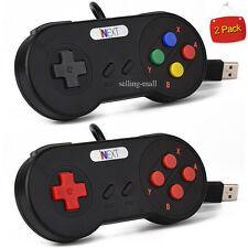 1x 2x Super Nintendo SNES USB Controllers GAME PAD For Raspberry Pi 3 / PC / MAC