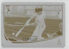 2013 Topps Update Series Printing Plate Yellow #US110 Kole Calhoun Baseball Card